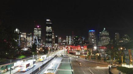 La notte di Brisbane