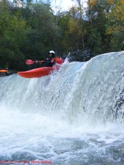 Piane di Carniglia kayak