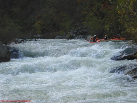 Kayaking in Taro alto
