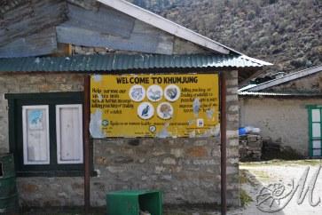 Khumjung Villaggio Sherpa
