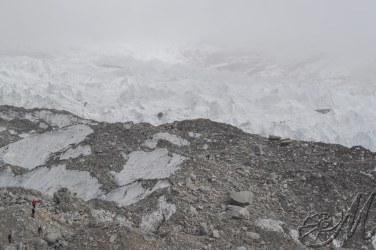 in giro per il seracco del Khumbu