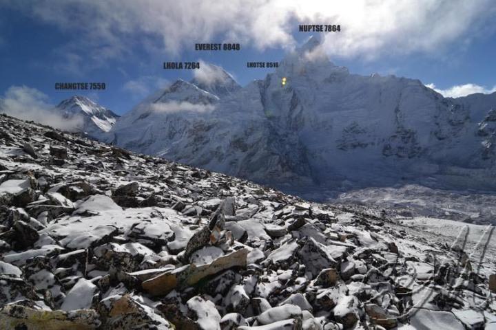 Panorama dal kala Pattar