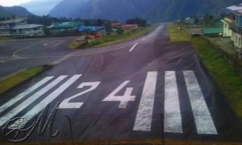 pista atterraggio lukla